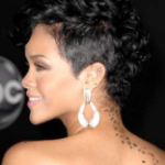 Short hairstyle of Rihanna 01