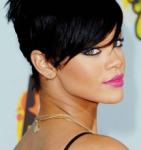 Short hairstyle of Rihanna 03
