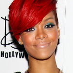 Short hairstyle of Rihanna 04