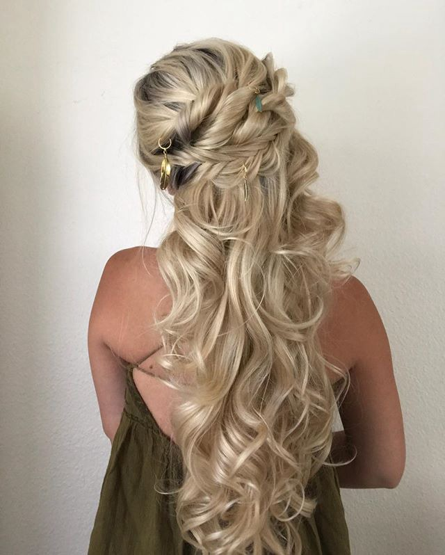 braid hairstyles for one blonde wig 12