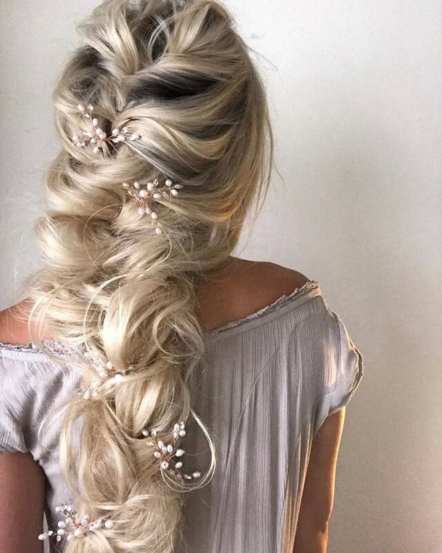 braid hairstyles for one blonde wig 14