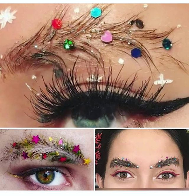 Christmas Eyebrows 04