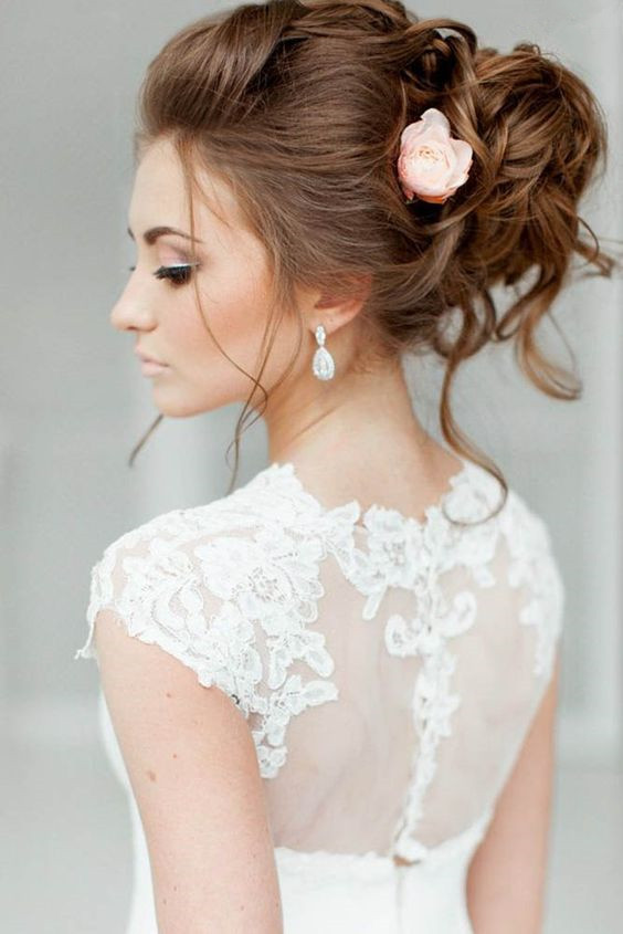 best wedding updos 2018 (11)