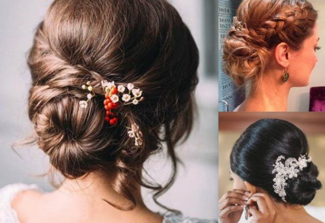 best wedding updos 2018