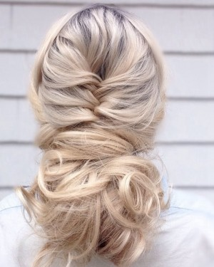 braid hairstyles for one blonde wig