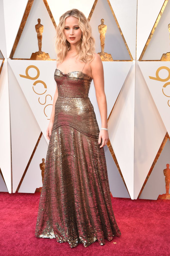 Jennifer Lawrence in Oscars 2018