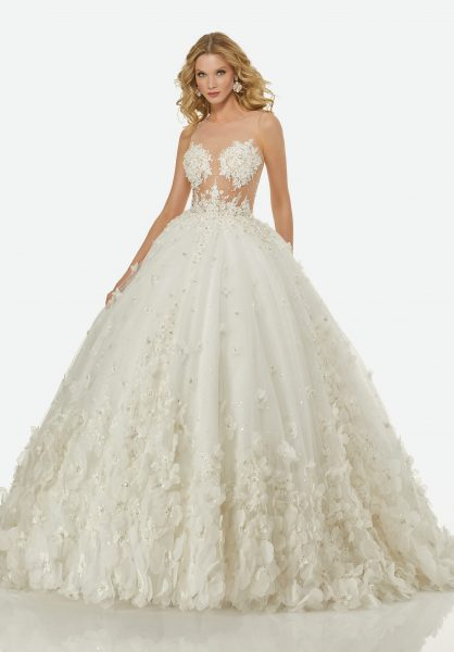 the wedding dress like bubble skirt